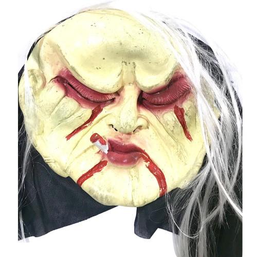 1 Adet Korkunç Et Maske, Kostüm Partisi Şaka Yüz Maskeleri