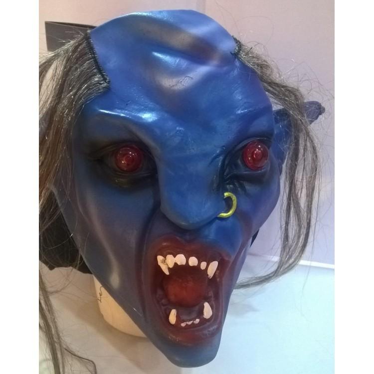 1 Adet Korkunç Maske Et Maske Işıklı Ilginç Halloween Korku Maskesi