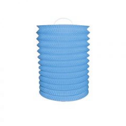 1 Adet Mavi  Akordiyon Şeklinde Tepe Süsü 25cm