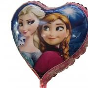 1 Adet Mavi Karlar Ülkesi Frozen Elsa Folyo Şekilli Uçan Balon