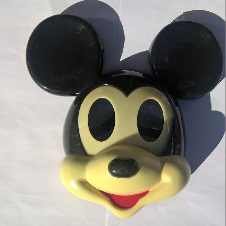 1 Adet Mickey Mouse Isikli Maske Erkek Parti Malzemesi