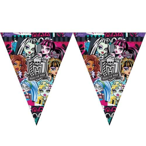 1 Adet Monster High Bayrak Flama Kız Doğum Günü 2. 2 Metre