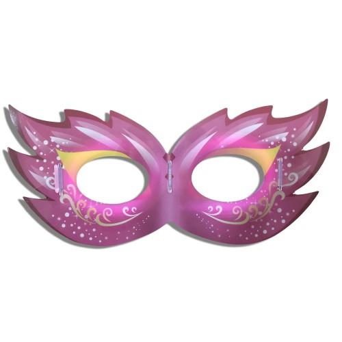 1 Adet Neon Işıklı Göz Maske, Fosforlu Parlayan Parti Maskesi