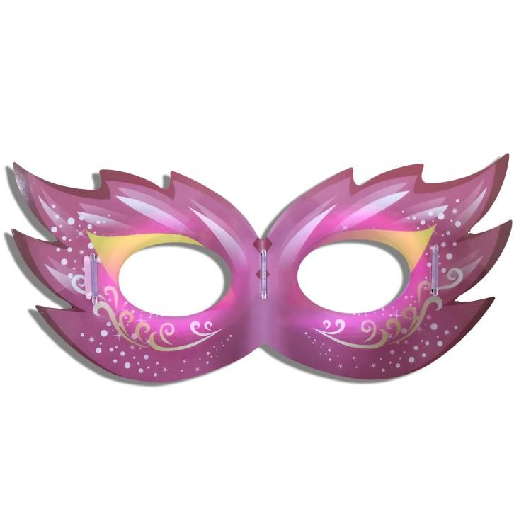 1 Adet Neon Işıklı Göz Maske Fosforlu Parlayan Parti Maskesi