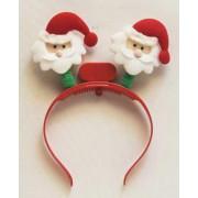 1 Adet Noel Babalı Işıklı Yılbaşı Tacı Yılbaşı Parti Malzemesi