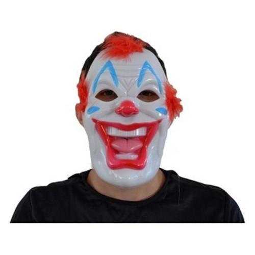 1 Adet Palyaço Plastik Yüz Maskesi Kostüm Partisi Korku Maskeleri