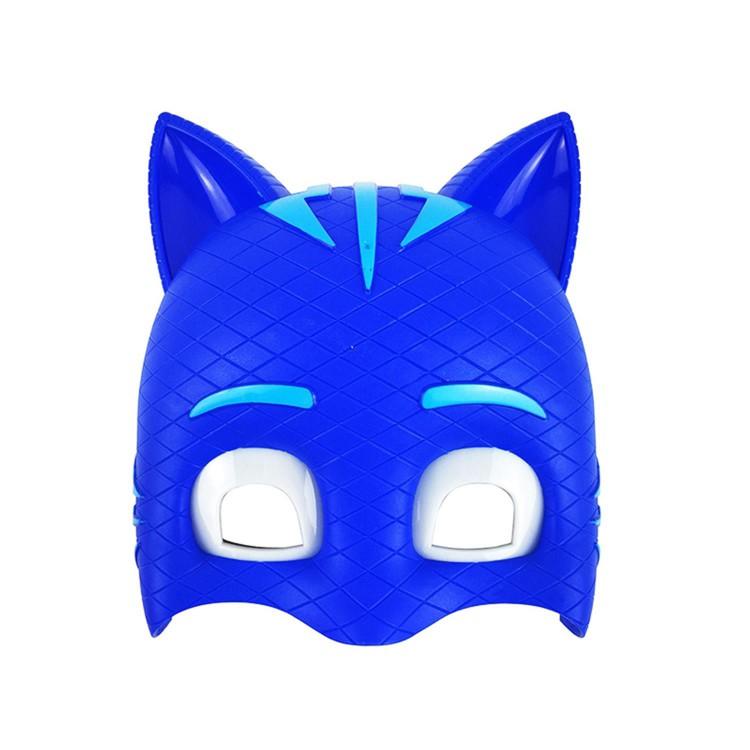 1 Adet Pijamaskeliler Kedi Cocuk Icin Isikli Maske Pj Masks