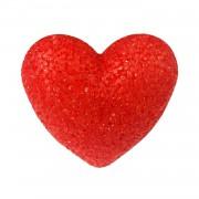 1 Adet Plastik Işıklı Kristal Görünümlü Ledli Kalp Mum 11cm