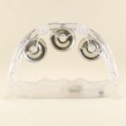 1 Adet Plastik Beyaz Şeffaf Işıklı Tef Kına Ve Düğün Malzemeleri