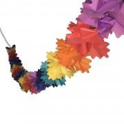 1 Adet Renkli Kağıt Gramafon Duvar (Tepe) süsü 2mt