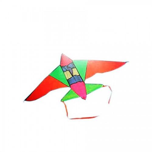 1 Adet Renkli Uçak (F16) Uçurtma, 135x95 cm Kite