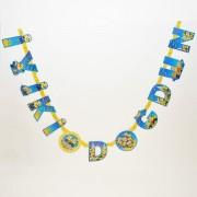 1 Adet Sarı Mavi Minyon,Minion,Minions  İyiki Doğdun Yazı