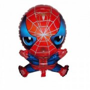 1 Adet Spiderman, Örümcek Adam Folyo balon 30cmx50cm