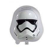 1 Adet Star Wars Temalı Stormtrooper Kaskı Folyo Balonu