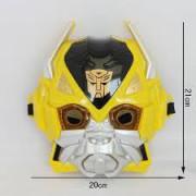 1 Adet Transformers Işıklı  Bumblebee Maske Erkek Parti Malzemesi