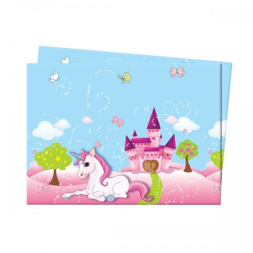 1 Adet Unicorn Tekboynuz At Masa Örtüsü, Doğum Günü Partisi