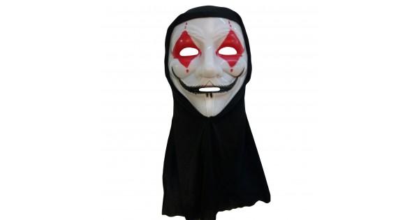 1 Adet Joker Maske Halloween Parti Malzemesi