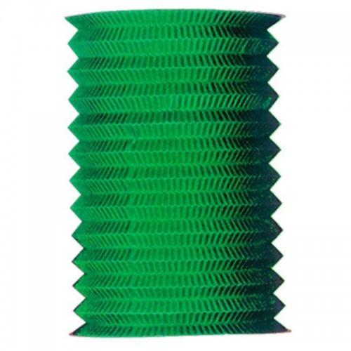 1 Adet Yeşil Akordiyon Şeklinde Tepe Süsü 25cm