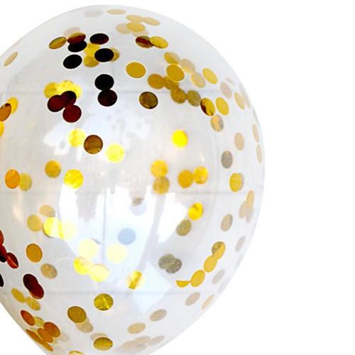 1 Paket Gold Altın Sarısı Şeffaf Balon İçi Konfeti Pulu