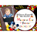 1 Yaş Doğum Günü Süsleri Mickey Mouse Temalı Kişiye Özel Süsleme