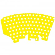 10 Adet Beyaz Puantiyeli Sarı Mısır İkram Kutusu, Benekli Popcorn