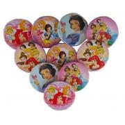 10 Adet Disney Prensesler Yaka Rozeti, Doğum Günü Kız Hediyelik