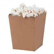 10 Adet Kahverengi Popcorn Mısır Kutusu