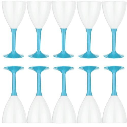10 Adet Mavi Şerbet Lohusa Bardağı Erkek Doğum Odası