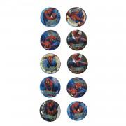 10 Adet Spiderman Örümcek Adam Rozet Hediyelik Erkek Parti