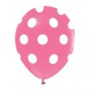 Puantiyeli Balon Pembe 100 Adet