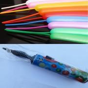 100 adet Karışık Renk Sosis Balon + 1 Adet Sosis Balon Pompası