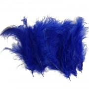 100 Adet Koyu Mavi-Lacivert Tüy (Şeffaf Balon içi Tüyü) Süslemesi