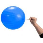 100 lü Paket Lastikli İpli Punch Balon, Renkli Balon