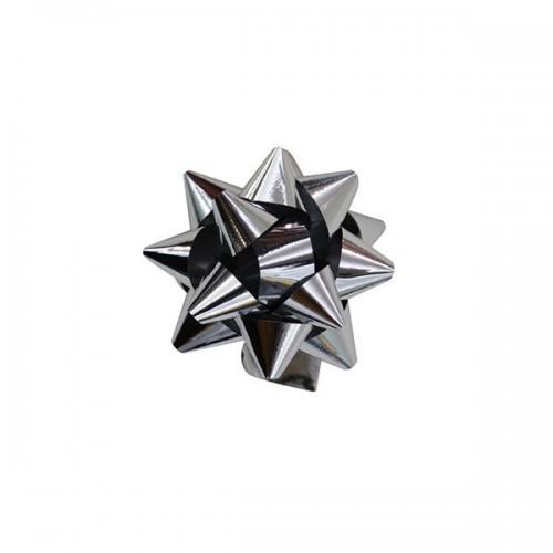 100 Adet Metalik Gümüş Hediye Paketi Süsü