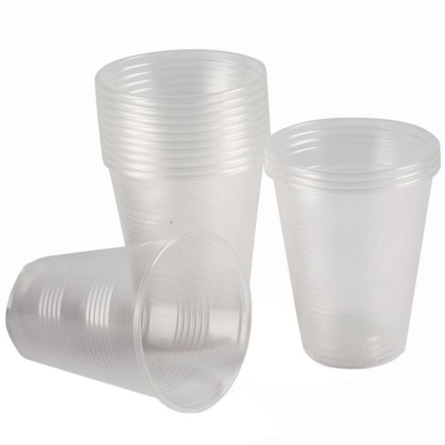 100 lü Şeffaf Plastik Bardak 180 ml Otomat Kullan At Bardak