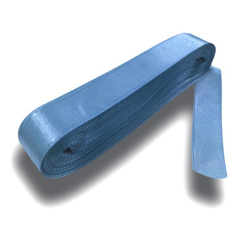 10m Uzunluğunda Açık Mavi Renk Kurdela, 20mm Kurdele