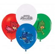 12 Adet Pijamaskeliler Balonu, PJ Masks Helyumla Uçan Balonları