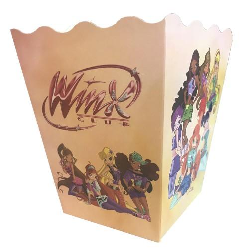 12 Adet Winks Mısır İkram Kutusu Kız Doğum Günü Parti Malzemesi.