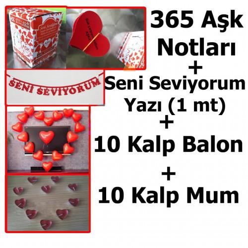14 Şubat Sevgililer Günü Kız Arkadaşa Sürpriz Süsleme Paketi