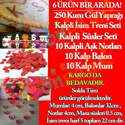 14 Şubat Sevgililer Günü, Sevgiliye Hazırlık Süsleme Paketi