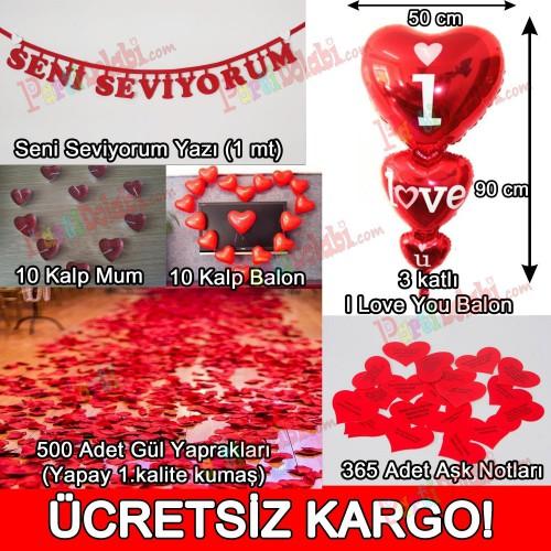 14 Şubat Sevgililer Günü Sevgiliye Sürpriz Süsleme Paketi
