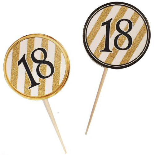 18 Yaş Doğum Günü Partisi Kürdanı, Yaş Günü Parti Malzemeleri