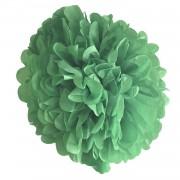 Mint Yeşili Ponpon Gramafon Çiçek Kağıt Doğum Günü Parti Süsü