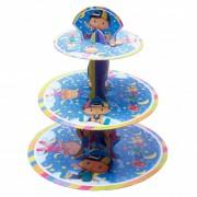 1 Adet Pepee Cupcake Standı 3 Katlı Doğum Günü Kek Standı