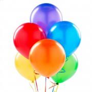 20 ADET METALİK SEDEFLİ KARIŞIK BALON Doğum Günü Helyumla Uçan