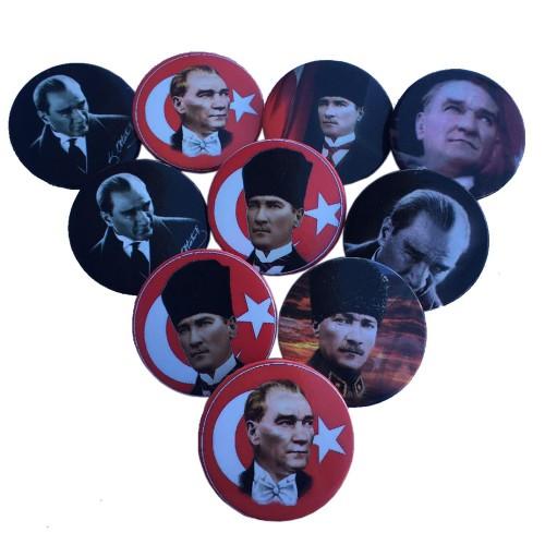 20 Adet Mustafa Kemal Atatürk Yaka Rozeti, Hediyelik Eşya