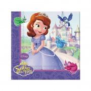 20 adet Prenses Sofia Peçete Doğum Günü Parti Peçetesi