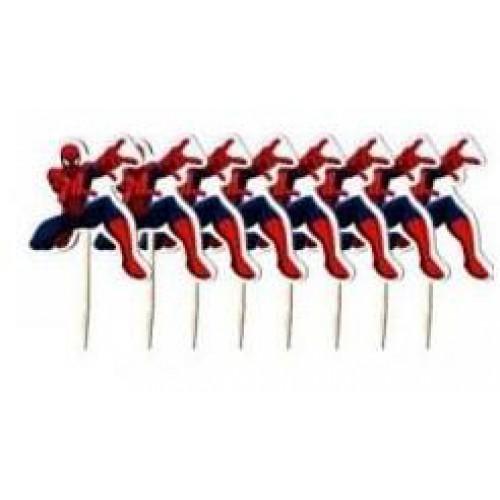 20li Spiderman Lisanslı Kürdan Örümcek Adam Konsept Kürdanlar
