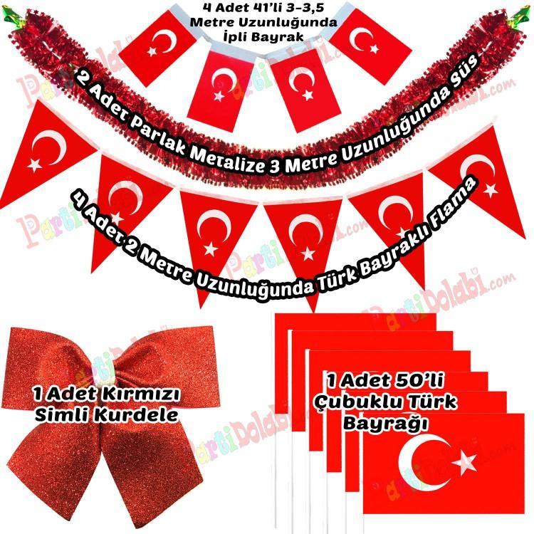 23 Nisan Susleri Seti 29 Ekim Susleme Paketi