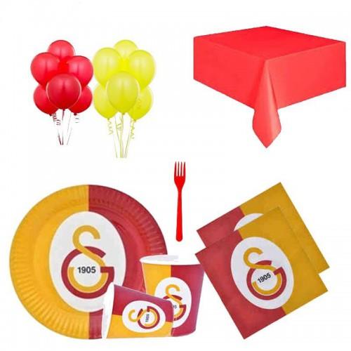 24 Kişilik Galatasaray Doğum Günü Konsepti, Gs Parti Süsleri
